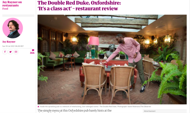 The Double Red Duke Opening Press Round-Up